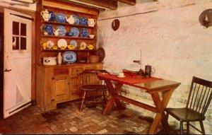 Pennsylvania Philadelphia Betsy Ross House The Basement Kitchen