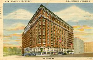 MO - St. Louis, New Hotel Jefferson