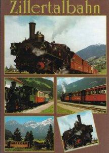 Eine Fahrt Mit Der Zillertalbahn Zillertal Railway Austria Postcard