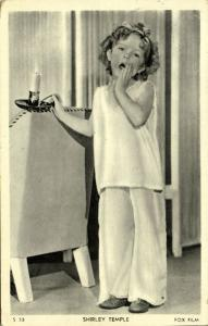 Child Actress SHIRLEY TEMPLE in Pajamas (1936) Fox Film S33
