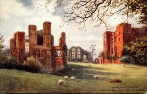 England Kenilworth Castle The Ruins From The Ramparts