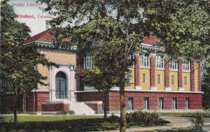WINDSOR , Ontario , Canada , 00-10s ; Public Library