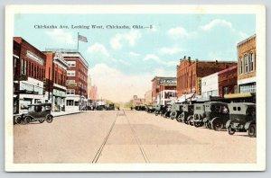 Chickasha Oklahoma~Chickasha Avenue West~Drug Store~Kress~1920s