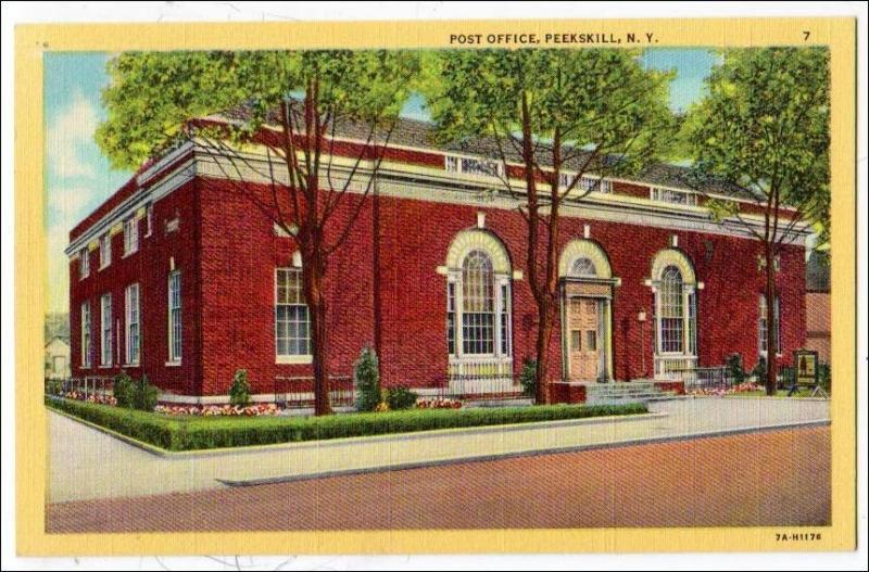 Post Office, Peekskill NY