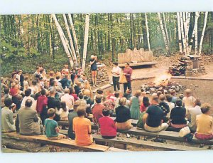 Pre-1980 CAMPGROUND Adirondacks - Silver Bay - Lake George NY AE3171