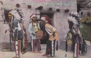 Colorado Manitou Indian Pueblo Indians Ready For Dance 1928 sk5760