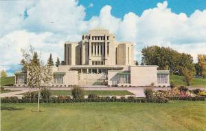 The Mormon Temple, Cardston, Alberta, Canada, 40-60s