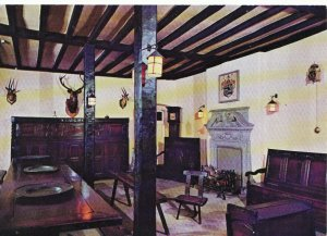 Lancashire Postcard - Servants' Dining Room - Towneley Hall  Burnley - Ref 6377A