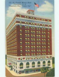 Linen FRANCIS MARION HOTEL Charleston South Carolina South Carolina SC W5364