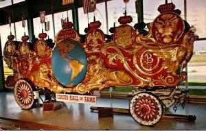 Florida Sarasota Two Hemispheres Bandwagon Circus Hall Of Fame 1966