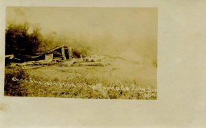 WI - Clark County near Neillsville. July 3, 1907. Chas. Shepard Place after T...