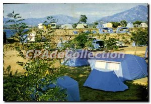 Modern Postcard From Ajaccio Porticcio Camping Les Lauriers Roses