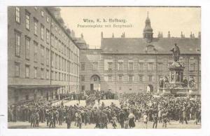 Wien, K.k. Hofburg. Franzensplatz mit Burgmusik, 00-10s
