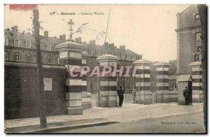 Old Postcard Beauvais Watrin Barracks