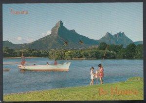 Mauritius Postcard - Tamarin - The View Over Tamarin Bay  T4207