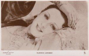RP: Glennis Lorimer , 1910-30s ; TUCK