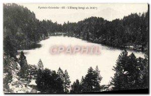 Old Postcard L & # 39Etang Long