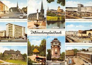 Moenchengladbach, Brunnen Abteiberg Alter Markt Garten Wassertuerm Stadttheater