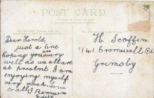 Genealogy Postcard - Scoffin - 141 Cromwell Road - Grimsby - 3574A