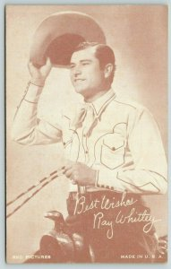 Atlanta Western Singer~Ray Whitley~Back in the Saddle Again Gibson Guitar