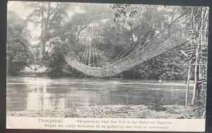 Mint RPPC Real Picture Postcard German West Africa Ngame Bridge