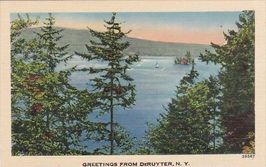 Greetings From Deruyter New York