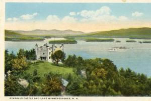 NH -  Lake Winnepesaukee &  Kimball's Castle