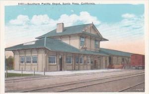 Southern Pacific Railroad Depot Santa Rosa California