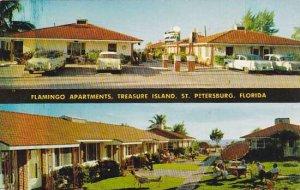 Florida Saint Petersburg The Flamingo On The Gulf Of Mexico Treasure Island