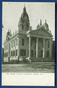 Mobile County Court House courthouse Alabama old postcard