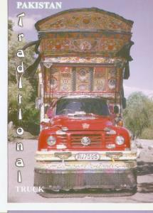 Postal 046739 : Traditional Pakistani Truck