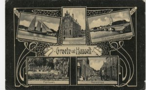Groote uit HASSELT , Holland, 1900-1910's