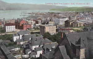 VANCOUVER, British Columbia, Canada; Looking East from Labour Hall, PU-1910