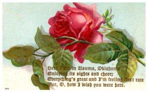 Okalhoma  Alsuma , Flower.  Poem