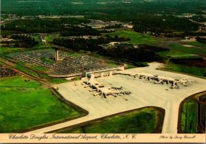 North Carolina Charlotte The Charlotte Douglas International Airport