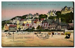 Old Postcard Trouville Queen Of Beaches And The Beach Villas