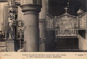 Canon Fullerton Memorial Bradford Church Antique Postcard