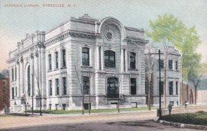 SYRACUSE , New York , 1900-10s; Carnegie Library
