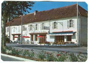 France, Hostellerie de la Paix, Logis de France, 1971 used Postcard