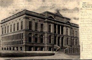 Iowa Des Moines Public Library 1905