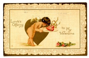Greeting - Valentine.  (Tuck Series 105)