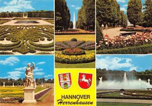 Hannover Herrenhausen, Garden Flowers Statues Fountain Promenade