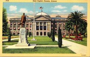 Arizona Phoenix State Capitol Curteich