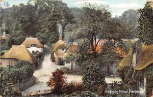 Cockington Village Torquay Cottages 1908