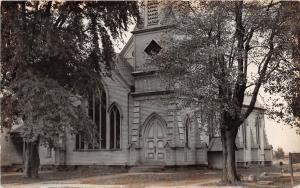 E45/ LaGrange Ohio Real Photo RPPC Postcard 1946 Reprint Methodist Church
