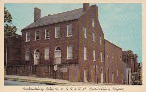 Fredericksburg Lodge No 4 A F & A M Fredericksburg Virginia1967