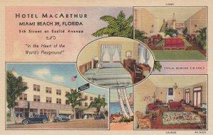 MIAMI BEACH , Florida, 1930-40s ;  Hotel MacArthur #2