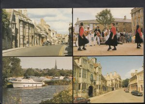 Northamptonshire Postcard - Views of Oundle  G996