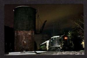 NEW JERSEY NJ WHIPPANY Reading Railroad Train Postcard