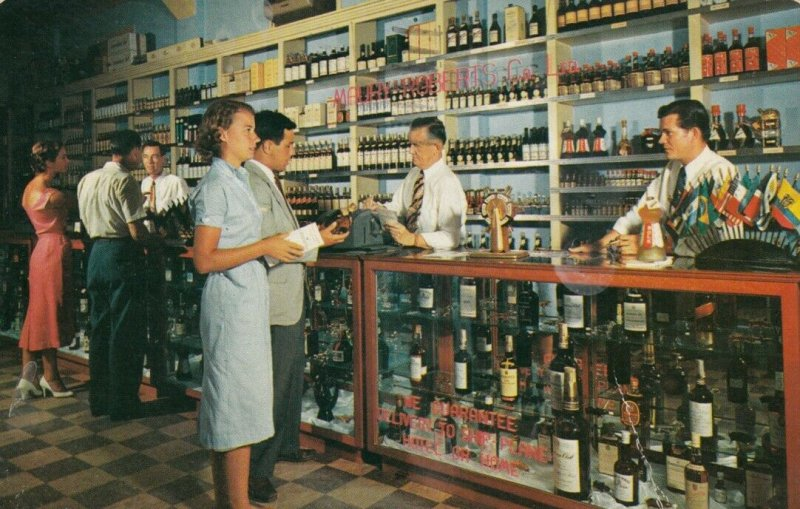 NASSAU, Bahamas, 1959; Maury Roberts Co. Ltd., Liquor Store